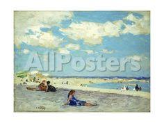 Long Beach by Bob Henley Landscapes Giclee Print - 61 x 46 cm