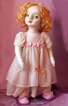 Beautiful baby-dolls inspired by vintage Lenci by SEVEN birds. She is looking for a house 190$