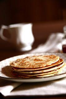 Pancakes allo sciroppo d'acero ( senza uova )