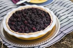 Summer Blackberry Pie #AutoimmunePaleo