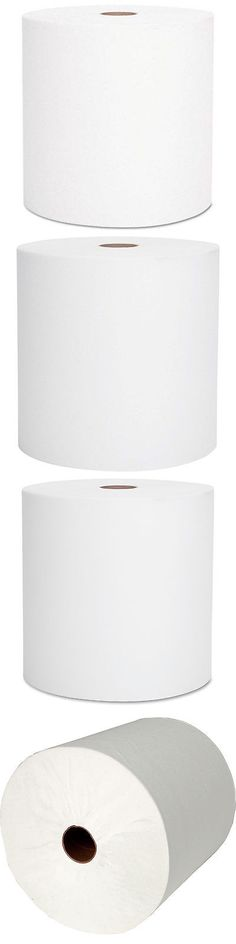 Scott 01052 Hard Roll Towels 100 Recycled 1 5 Core White 8 Inch Wide x