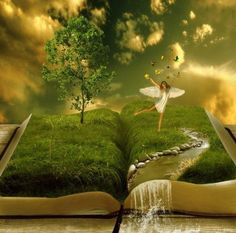 Imagination! Create...dream... :)