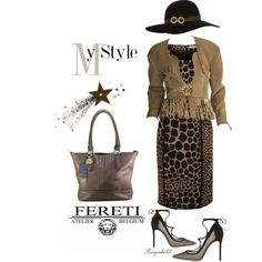 Please join my First Contest! Style a Bag from Fereti by ragnh-mjos on Polyvore featuring Michael Kors, Gianvito Rossi, Sarah Coventry, Chanel, Accessorize, outfit and Fereti