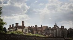Knole in Sevenoaks, Kent: More of a town than a house. Southeast of London