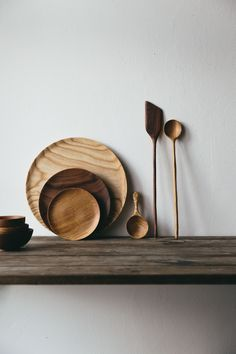 Handmade Beauties from Nature create the perfect rustic table setting.