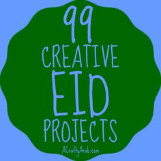 A Crafty Arab 99 Creative Eid Projects. Eid is the Arabic word for feast or holiday. While it is common to think of Eid as only celebrating the two largest Muslim festivals, in particular Eid al-Fitr or Eid al-Adha, the word itself is in many other occa