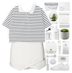 """middle of things // tag"" by cheruhb ❤ liked on Polyvore featuring Witchery, adidas, NARS Cosmetics, Proenza Schouler, Brinkhaus, Frette, Maison Margiela, BIA Cordon Bleu, Fresh and Lord & Berry"