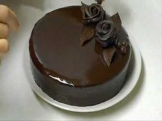 Chocolate Mirror Glaze Cake Recipe CHOCOLATE HACKS by Cakes Step by Step - YouTube