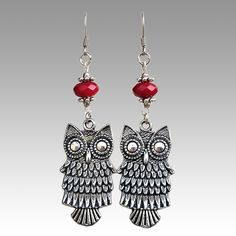 """""""Dangly Hooters"""" Earrings - Jeffrey Grimes, Fantastic ReVision 