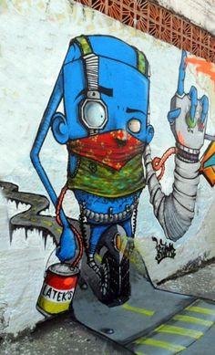 Street Art By Ignoto - Sao Paulo (Brazil) - Street-art and Graffiti   FatCap
