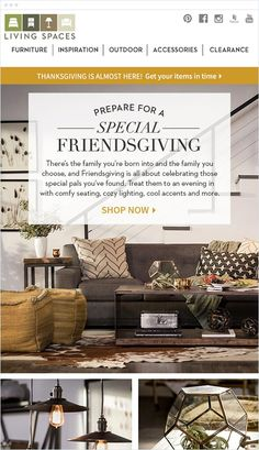 12 Best Interior Campaigns Images Email Design Inspiration Email Design Email Newsletter Design