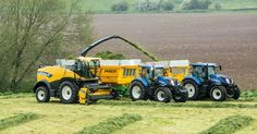 New Holland forager crusier
