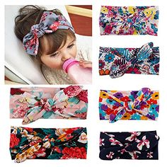 BiBang Baby Girls Toddler Bow Headbands Pack of 6 * You can get more details by clicking on the image. (This is an affiliate link) #LatestBabyClothes