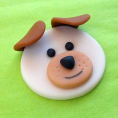 12 DOGS and CATS.Fondant Cupcake Toppers van SWEETandEDIBLE op Etsy