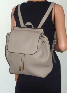 """Marc By Marc Jacobs Nwt """"pike Place"""" Cement Handbag Backpack. Get one of the hottest styles of the season! The Marc By Marc Jacobs Nwt """"pike Place"""" Cement Handbag Backpack is a top 10 member favorite on Tradesy. Save on yours before they're sold out!"""