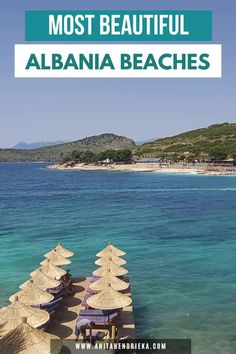 There's no doubt that Albania is a hidden gem in Europe, many people don't even know it exists!This is why I created the best Albania travel guide to the Albania beach destinations along the Albanian Riviera which includes Ksamil, Saranda, Vlore, Dhermi and more! Get to know some of the best places to visit in albania, things to do in albania, albania food recommendations and albania travel tips. Albania is a top balkan destination and best Europe vacation spot for the European summer! Albania Beach, Visit Albania, Albania Travel, Europe Travel Outfits, Europe Travel Guide, Travel Expert, Travel Tips, Secluded Beach, European Summer