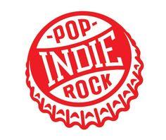 Designspiration - Indie Pop Rock logo design by Tim Frame Rock Chic, Glam Rock, Indie Pop, Indie Music, Surf Music, Indie Kunst, Badge Design, Logo Design, Badges