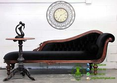 The black chaise lounge has become one of the most popular pieces of furniture available on the market today. Furniture Styles, Unique Furniture, Home Decor Furniture, Furniture Design, Adams Furniture, Perth, Brisbane, Melbourne, Sydney