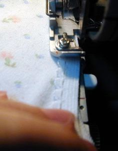 Now that so many of you have coverstitch machines, I thought I'd rerun this tutorial from 2001. This is a very easy and neat (yes, I love my sewing to be neat and tidy!) way to finish a knit.…