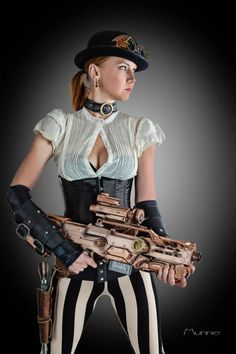 <<< #FanX is coming! April 17-19, 2014, saltlakecomiccon.com >>> #Steampunk #Girl #Pinup