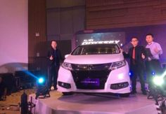 All New Honda Odyssey di Banderol Rp 739.500.000 on the road makassar