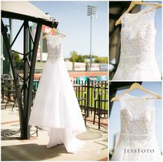Veluz Reyes AMIHAN Gown Photos by JessFoto | Baseball Field Wedding Dress Inspiration Ever After Bridal Bride-http://eabridal.com