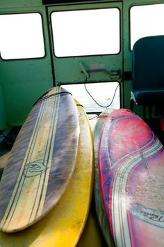 """Surf Bus"" contemporary wall art by Christopher Ross for GreenBox Art + Culture"
