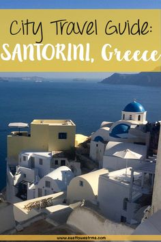 City Travel Guide to SANTORINI, Greece! Santorini is by far the most gorgeous place I have ever visited, you feel like you are living in a photograph. Click through to read about what to do on this stunning island.