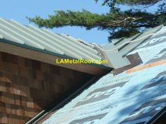 Standing Seam Metal Roof Valley Flashing Installation