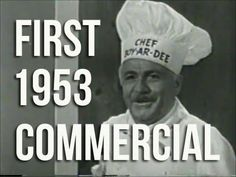 Did you know Chef #Boyardee was not a fictional character?  Chances are you even pronounced Boyardee the wrong way?