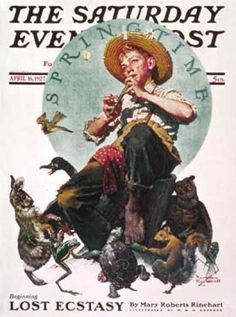 Saturday Evening Post - 1927-04-16 (Norman Rockwell)