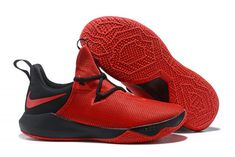 5b9723bc69f Men s Nike Zoom Shift 2 EP October Red Black Basketball Shoes-5 Black  Basketball Shoes
