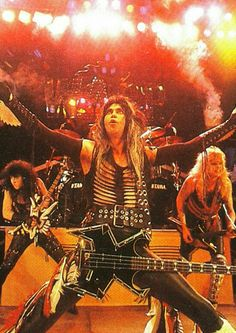 Blackie Lawless 80s Metal Bands, Hair Metal Bands, Heavy Metal Rock, Heavy Metal Music, Great Bands, Cool Bands, Rollin Stones, 80s Rock, Rock Of Ages