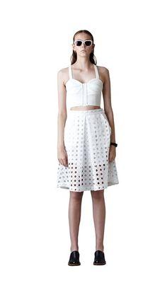 96ffa535d85 White separates. Salasai s  Dream Crusher  Skirt  white  trend  fashion   smith caugheys. Smith   Caughey s