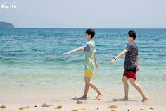 Jongkook & Jimin summer vacation