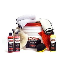 Adam's Wash & Wax Kit - Great stuff for car care nuts (like some of us at Imbue)