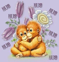 Pin by Kimberly Strode on hugs. | Cute friendship quotes ...