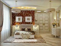 Eskitme ağırlıklı yatak odası dekorasyonu
