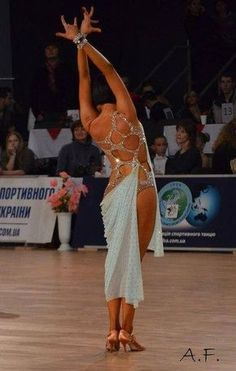 #latin dance #dress