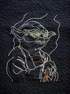 Star Wars Quilt...Most Badass...