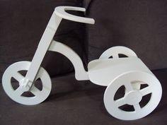 Luartebaby Artesanato: Triciclo decorativo para decoração de festa de ani...