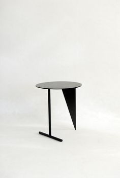 Stabile Side Table by Max Enrich Metal Furniture, Home Decor Furniture, Table Furniture, Cool Furniture, Home Furnishings, Modern Furniture, Furniture Design, Furniture Ideas, Console Table