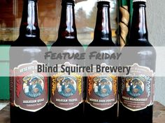 Feature Friday: Blind Squirrel Brewery Bottle Labels, Brewery, Squirrel, Blinds, Friday, Branding, Box, Sunroom Blinds, Squirrels