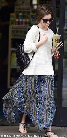 unpodiblog: Lo stile di Lily Collins