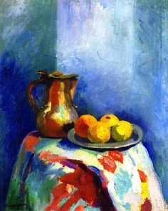 Still Life with Copper Pitcher Henri Manguin - circa 1902-1903