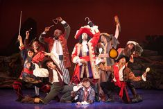 Captain Hook and his crew take on Peter Pan in the upcoming musical at the Community Center Theatre. Description from villagelife.com. I searched for this on bing.com/images