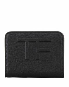Small Zip Wallet, Black by Tom Ford at Neiman Marcus.