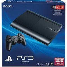Sony PlayStation 3 250GB Console - Black Sony http://www.amazon.com/dp/B00AEX81SG/ref=cm_sw_r_pi_dp_VJPtwb1E5XC8H