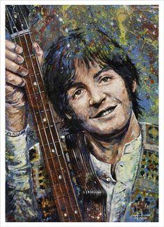 Paul McCartney by Tom Noll