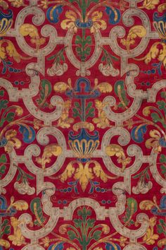 Mariano Fortuny y Madrazo, cotton printed textile, 20th century. Photo: Courtesy of Fortuny Inc. and the Riad Family.